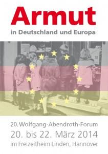 Armut in Deutschland - 20. Wolfgang-Abendroth-Forum 2014