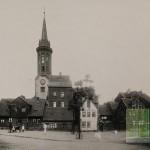 An der Martinskirche - Alte Wohnhäuser 1908 (Bild: Geschichtswerkstatt)