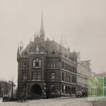 Deisterstraße - Blick auf das alte Rathaus 1912 (Bild: Geschichtswerkstatt)