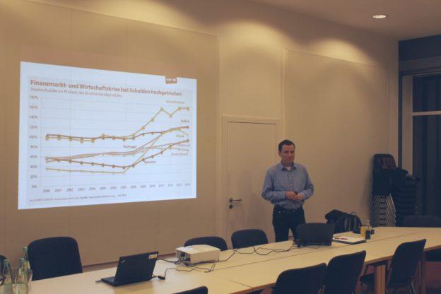 Dr. Patrick Schreiner beim 22. Wolfgang-Abendroth-Forum