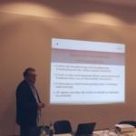 Prof. Dr. Klaus Busch beim 22. Wolfgang-Abendroth-Forum